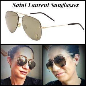 4fd21cda65e93 Yves Saint Laurent Accessories - AUTHENTIC NIB YSL Classic 11 M Aviator  Sunglasses